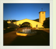 Mondavi Winery at Sunrise